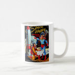 Retro Vintage Kitsch 60s Space Happy Colouring Boo Mug