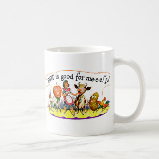 Retro Vintage Kitsch Ad DDT is Good for Me Basic White Mug