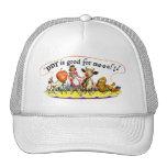 Retro Vintage Kitsch Ad DDT is Good for Me Trucker Hat