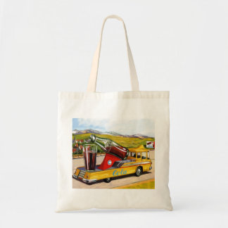 Retro Vintage Kitsch Advertising 60s Cola Truck Bags