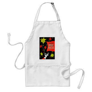 Retro Vintage Kitsch Canned Meat Magic Apron