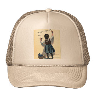 Retro Vintage Kitsch Chocolate Chocolat Girl Cap