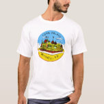 Retro Vintage Kitsch Corn Palace South Dakota T-Shirt