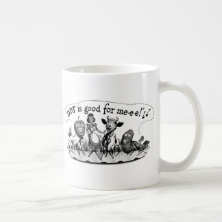 Retro Vintage Kitsch DDT is Good For Me Ad Coffee Mug