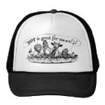 Retro Vintage Kitsch DDT is Good For Me Ad Mesh Hats