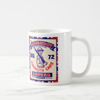 Retro Vintage Kitsch Doughboy Mammoth Caps Classic White Coffee Mug