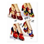 Retro Vintage Kitsch Fashion 40s Women's Shoes