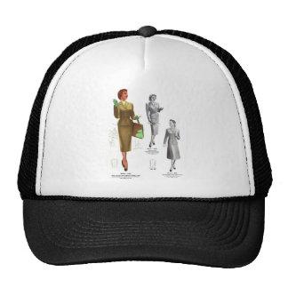 Retro Vintage Kitsch Fashion Women's Wear Trucker Hat