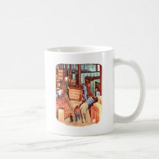 Retro Vintage Kitsch Fifties Factory Manager Dad Coffee Mug