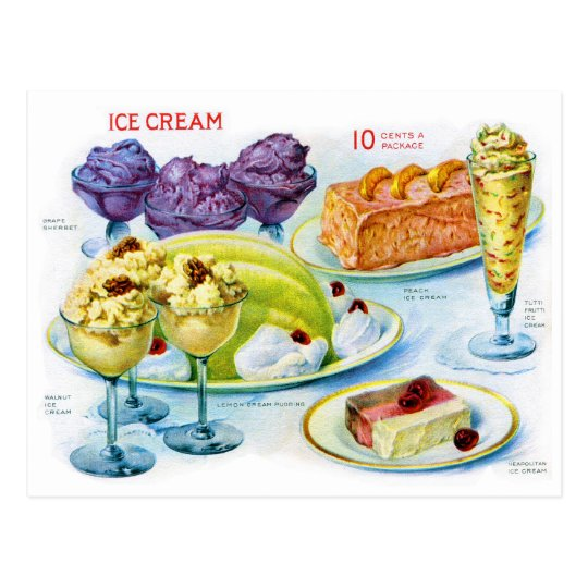 Retro Vintage Kitsch Food 30s Gelatin Desert Art