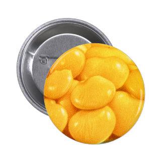 Retro Vintage Kitsch Food Butter Beans 6 Cm Round Badge