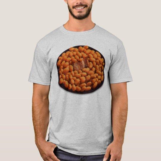 Retro Vintage Kitsch Food Pork and Beans T-Shirt