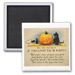 Retro Vintage Kitsch Halloween Invitation