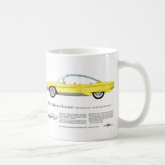 Retro Vintage Kitsch Kaiser Menehune Concept Car Basic White Mug