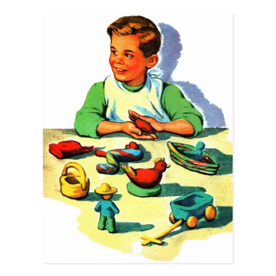 Retro Vintage Kitsch Kid School Book Arts &