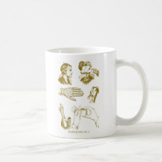 Retro Vintage Kitsch Medical Illustration Bandages Coffee Mug