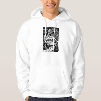 Retro Vintage Kitsch Monsters Madhouse of Mystery Hooded Sweatshirts