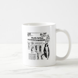 Retro Vintage Kitsch Mystic Action Pin Up Glasses Mugs
