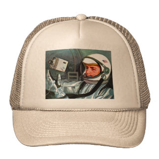 Retro Vintage Kitsch NASA Astronaut Super 8 Camera Cap