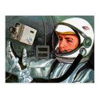 Retro Vintage Kitsch NASA Astronaut Super 8 Camera Postcard