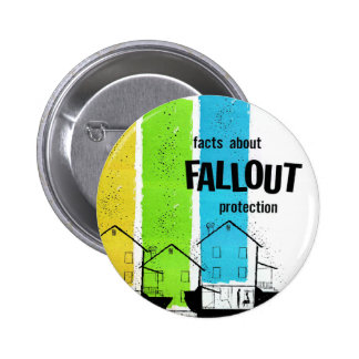 Retro Vintage Kitsch Nukes Facts About Fallout Pins
