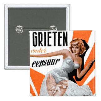 Retro Vintage Kitsch Pin Up 60s Dutch Chicks