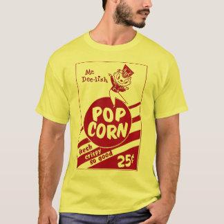 Retro Vintage Kitsch Popcorn Mr. Dee-lish T-Shirt