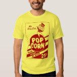 Retro Vintage Kitsch Popcorn Mr. Dee-lish T Shirts