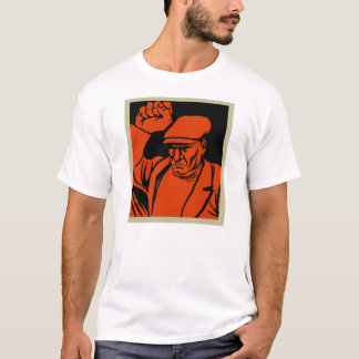 Retro Vintage Kitsch Propoganda Angry Worker T-Shirt
