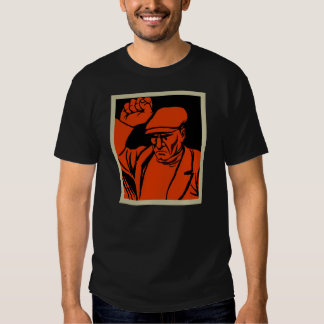 Retro Vintage Kitsch Propoganda Angry Worker T-shirts