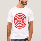 Retro Vintage Kitsch Red Archery Target Bullseye T-Shirt