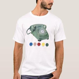 Retro Vintage Kitsch Rotary Telephone Model 500 T-Shirt