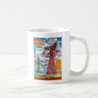 Retro Vintage Kitsch Sci Fi 30s Modern Wonder Classic White Coffee Mug