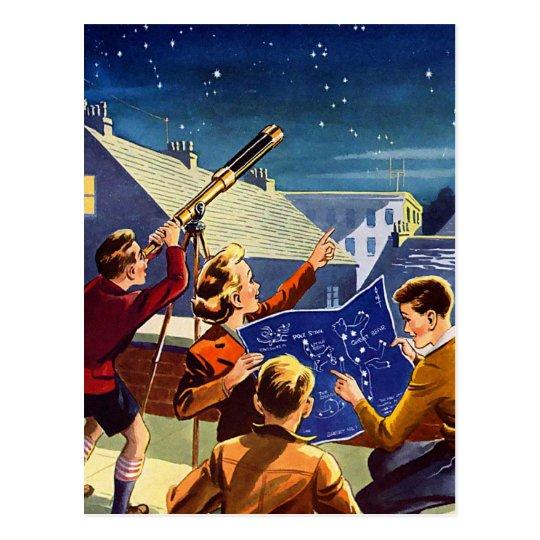 Retro Vintage Kitsch Sci Fi 40s Kids Telescope