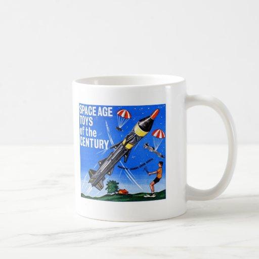 Retro Vintage Kitsch Sci Fi Space Age Toys Mach-X Coffee Mug