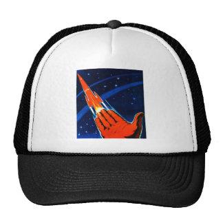 Retro Vintage Kitsch Sci Fi USSR Soviet Space Cap