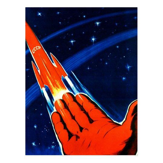 Retro Vintage Kitsch Sci Fi USSR Soviet Space