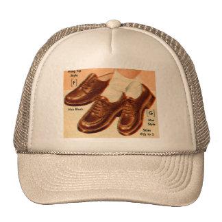 Retro Vintage Kitsch Shoe s Shoes Catalog Art Cap
