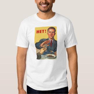 Retro Vintage Kitsch Soviet Propaganda Het Vodka T Shirt