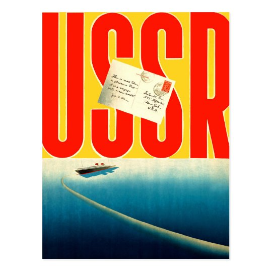 Retro Vintage Kitsch Soviet Travel to USSR Art