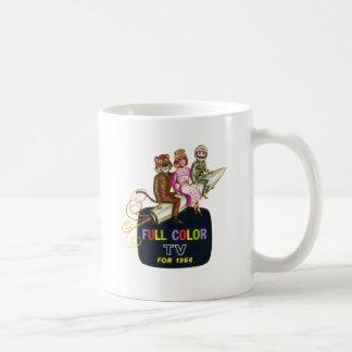 Retro Vintage Kitsch Television TV Kids in Costume Coffee Mug