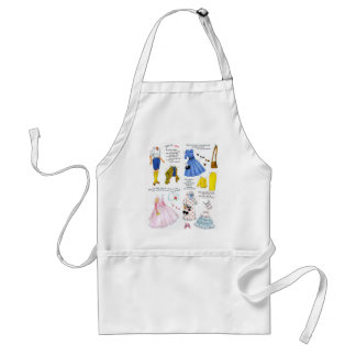 Retro Vintage Kitsch This is Ann Paper Doll Adult Apron
