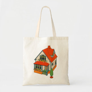 Retro Vintage Kitsch Toy Catalog Toy House Tote Bag