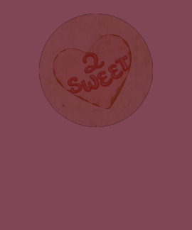 Retro Vintage Love 2 Sweet Heart Old Antique Paper Tshirts