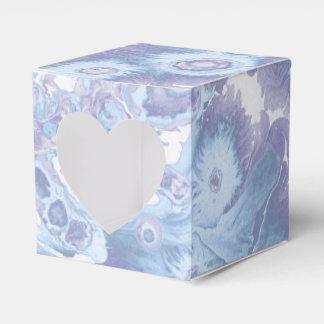 Retro vintage marble paint texture favour box