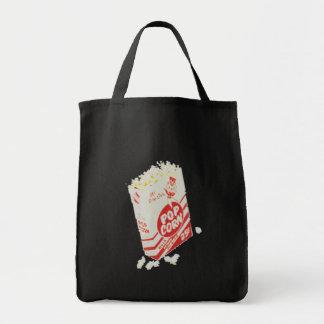 Retro Vintage Movie Theater Popcorn Tote Bag