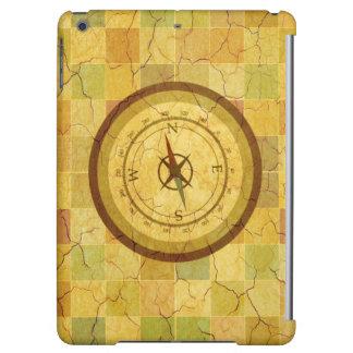 Retro Vintage Multicolored Compass Design Case For iPad Air