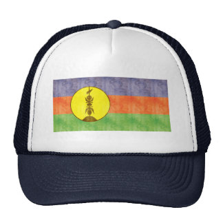 Retro Vintage New Caledonia Flag Trucker Hat
