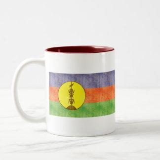 Retro Vintage New Caledonia Flag Mug