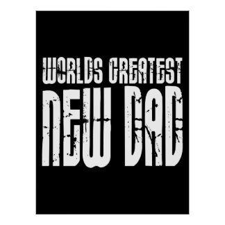 Retro Vintage New Dads World s Greatest New Dad Poster